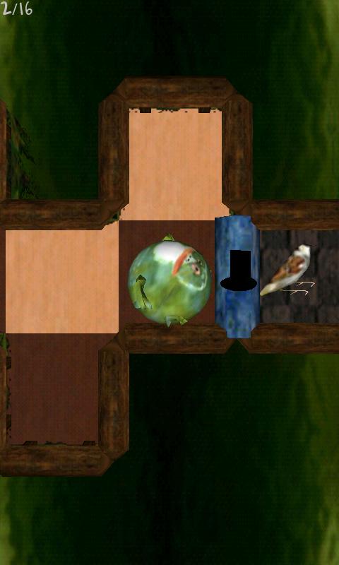 androidアプリ フロッグス ボール攻略スクリーンショット1
