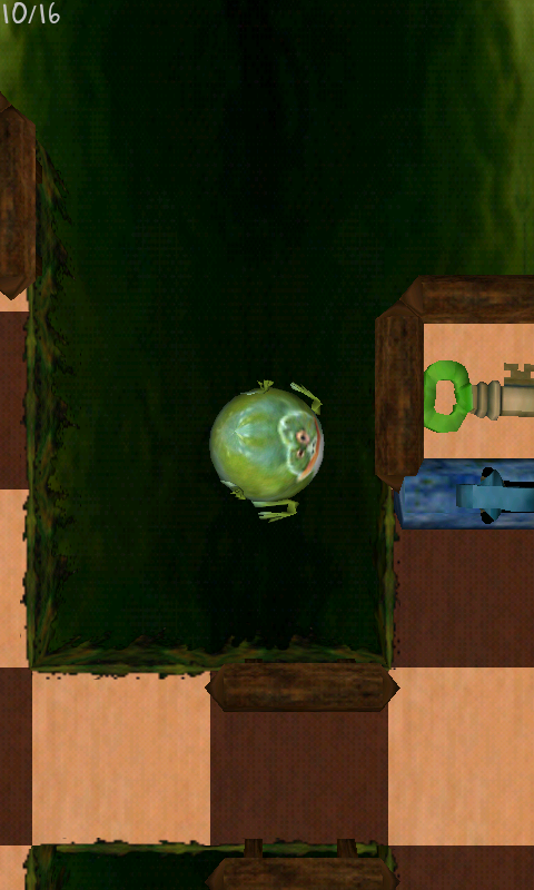 androidアプリ フロッグス ボール攻略スクリーンショット4