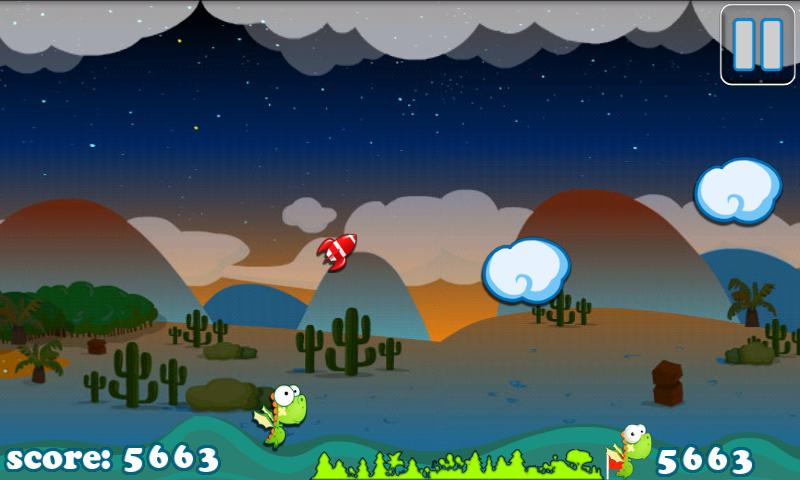 androidアプリ ディノフライ フリー攻略スクリーンショット3