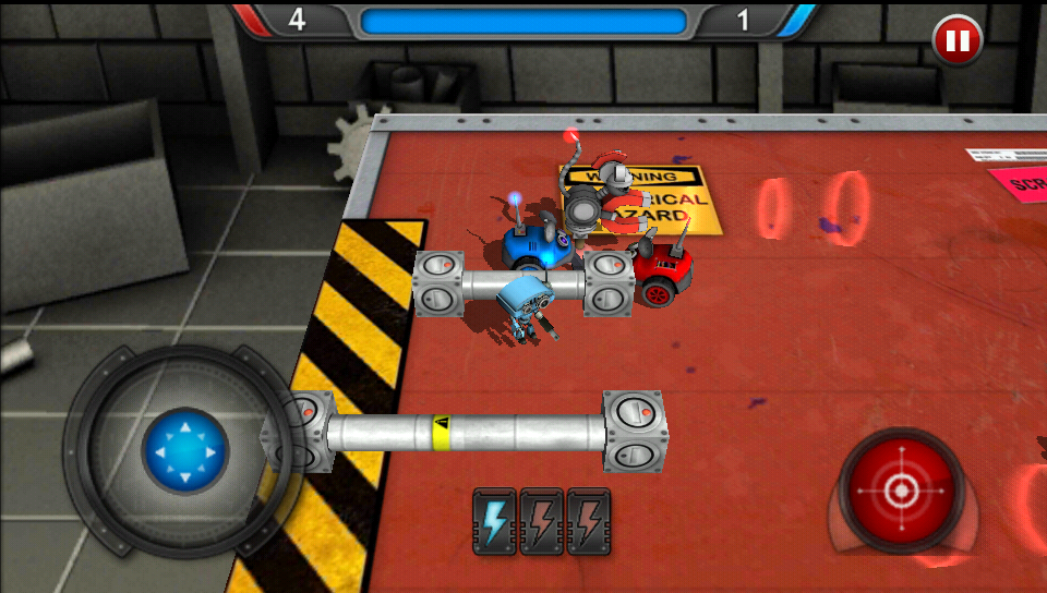androidアプリ グッドロボット バッドロボット攻略スクリーンショット5