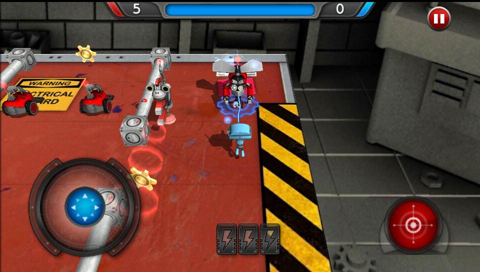 グッドロボット バッドロボット androidアプリスクリーンショット1