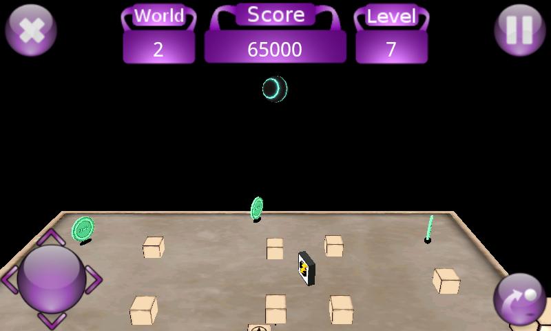 androidアプリ ティーター 3D攻略スクリーンショット2