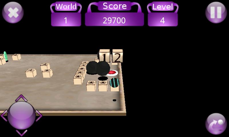 androidアプリ ティーター 3D攻略スクリーンショット3