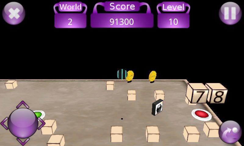 androidアプリ ティーター 3D攻略スクリーンショット5