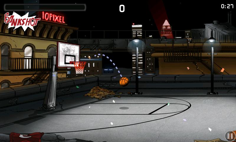 androidアプリ チップ-オフ バスケットボール攻略スクリーンショット1