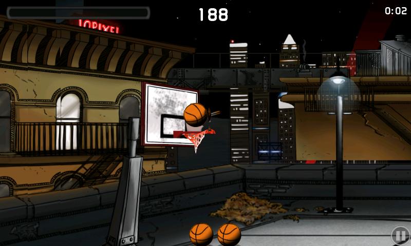androidアプリ チップ-オフ バスケットボール攻略スクリーンショット2