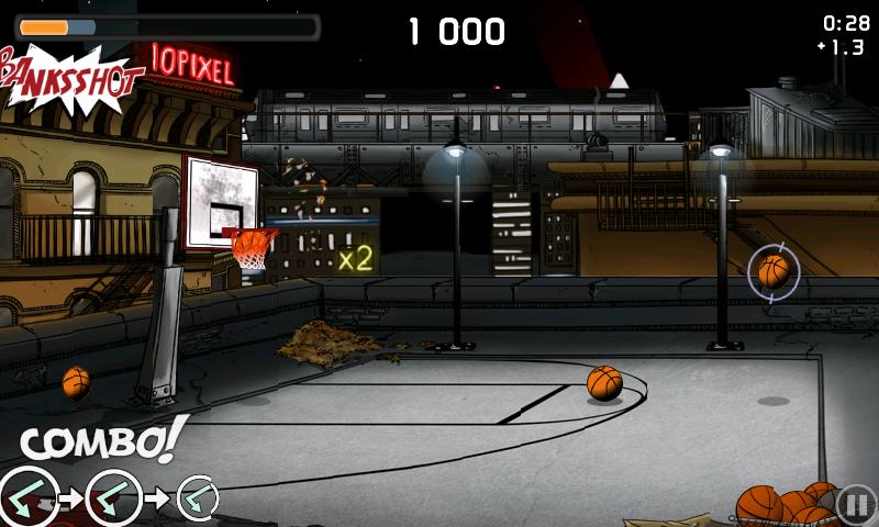 androidアプリ チップ-オフ バスケットボール攻略スクリーンショット3