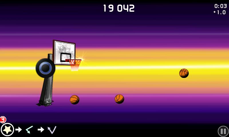 androidアプリ チップ-オフ バスケットボール攻略スクリーンショット4