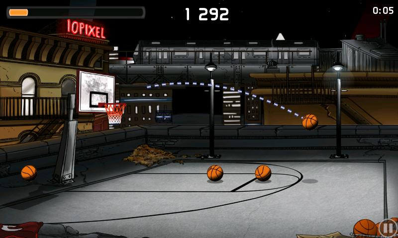androidアプリ チップ-オフ バスケットボール攻略スクリーンショット5