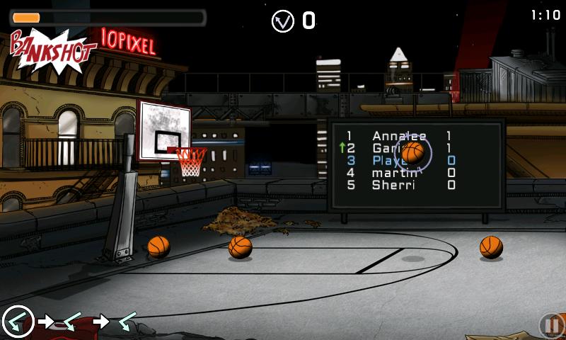 チップ-オフ バスケットボール androidアプリスクリーンショット3