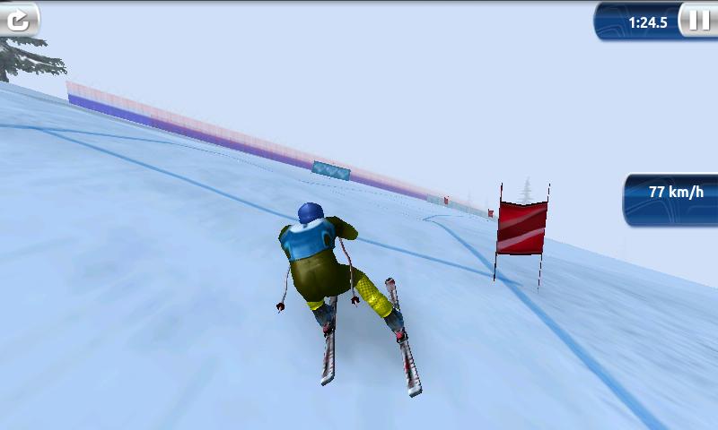 androidアプリ スキーチャレンジ 12 ライト攻略スクリーンショット3