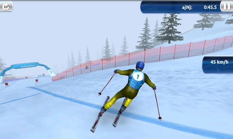 androidアプリ スキーチャレンジ 12 ライト攻略スクリーンショット5