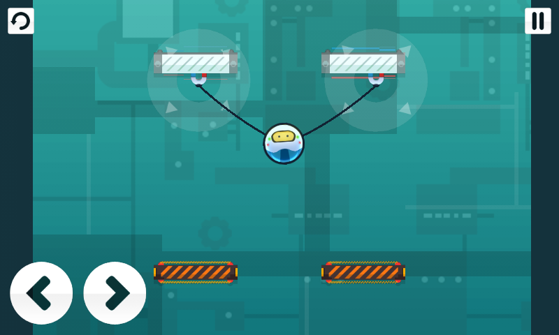 androidアプリ ロープボット ライト攻略スクリーンショット2