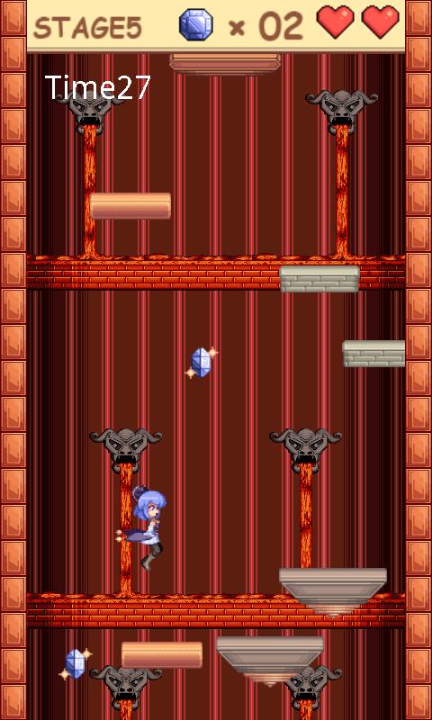 androidアプリ 塔と少女と精霊石攻略スクリーンショット2