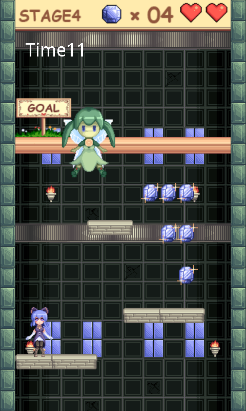 androidアプリ 塔と少女と精霊石攻略スクリーンショット5