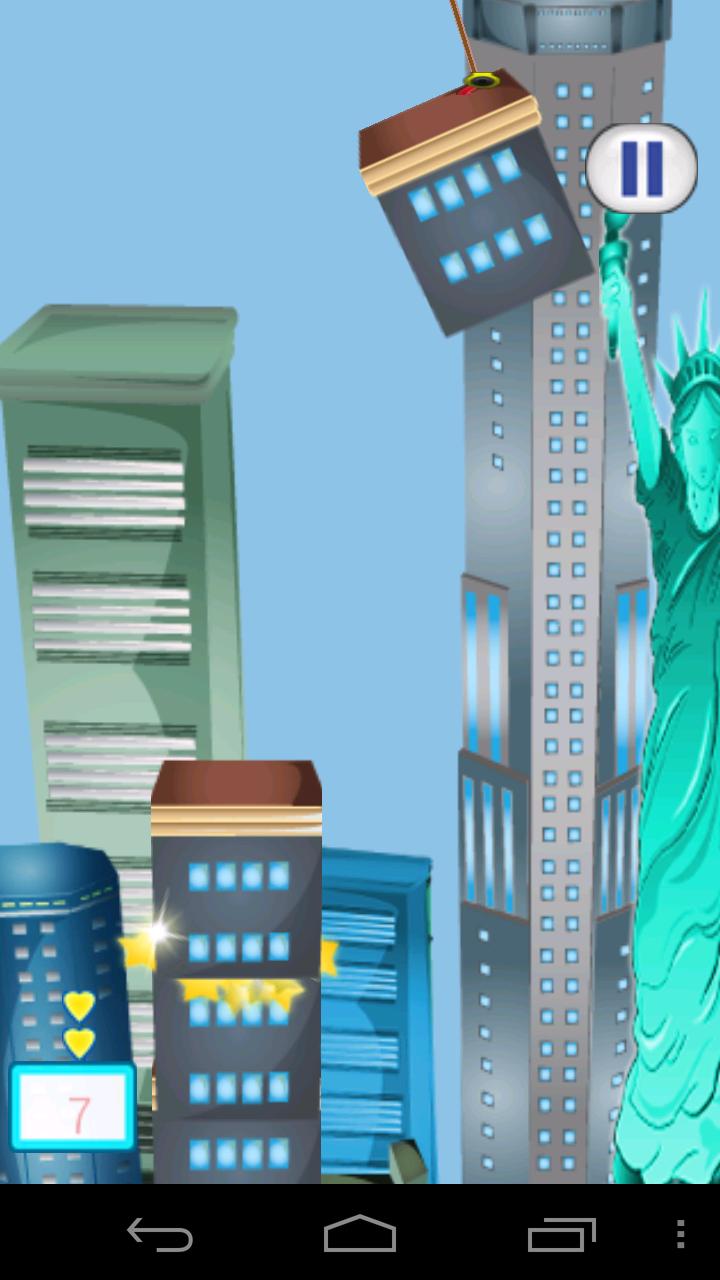 ビルディングニューヨーク ゴールドファイナリー androidアプリスクリーンショット1