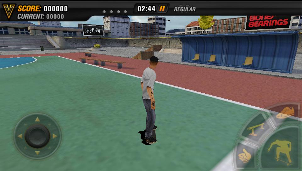 androidアプリ マイクファイブ:スケートボードパーティ HD攻略スクリーンショット2