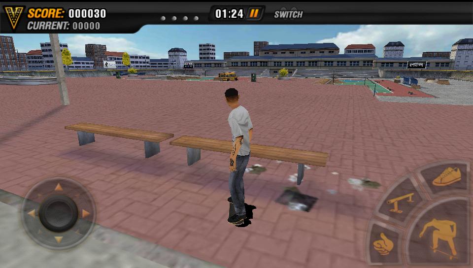 androidアプリ マイクファイブ:スケートボードパーティ HD攻略スクリーンショット3