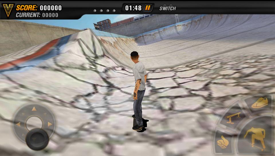 androidアプリ マイクファイブ:スケートボードパーティ HD攻略スクリーンショット4