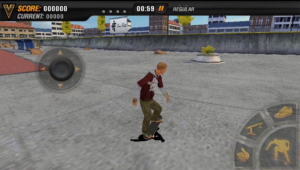 マイクファイブ:スケートボードパーティ HD androidアプリスクリーンショット1