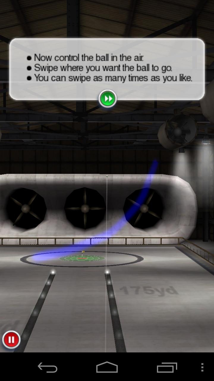 androidアプリ フリックゴルフ エクストリーム攻略スクリーンショット1