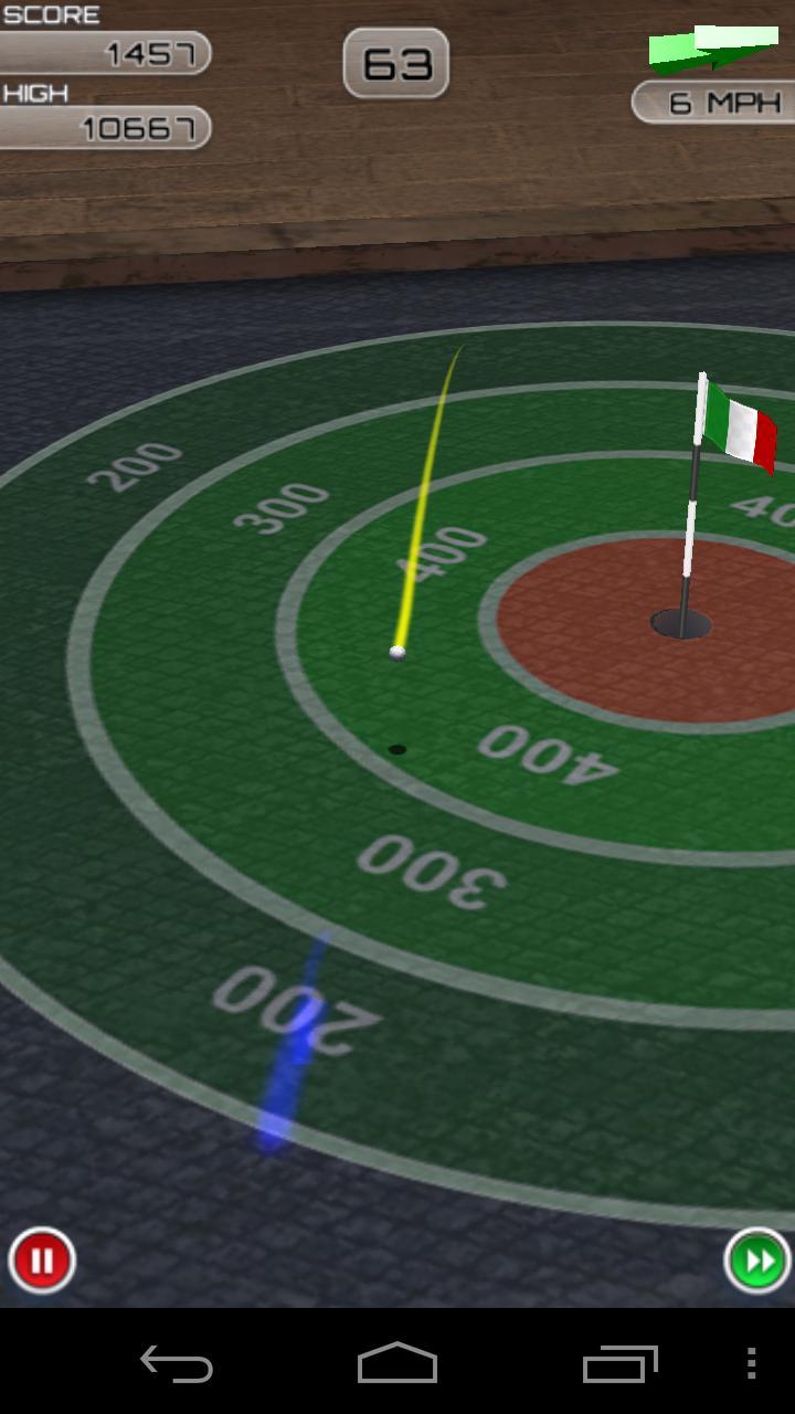 androidアプリ フリックゴルフ エクストリーム攻略スクリーンショット2