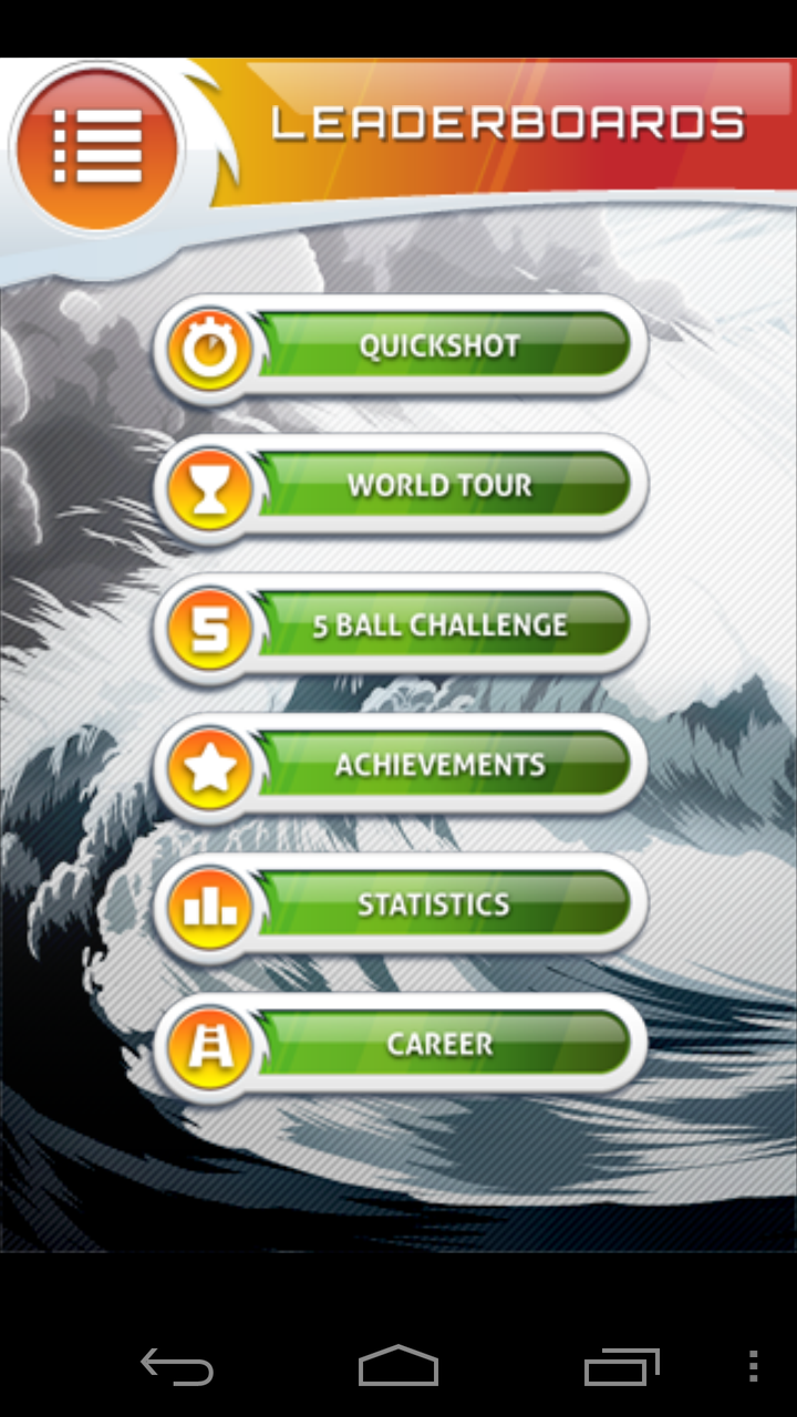 androidアプリ フリックゴルフ エクストリーム攻略スクリーンショット5