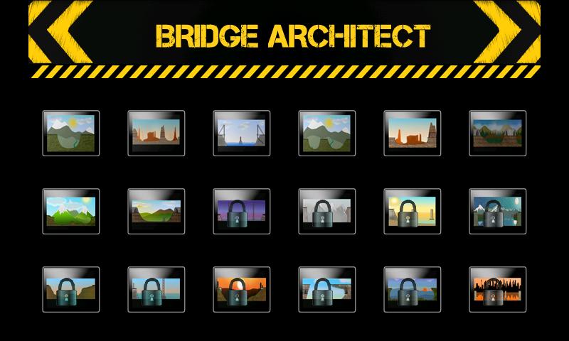 ブリッジアーチテクト ベータ androidアプリスクリーンショット2