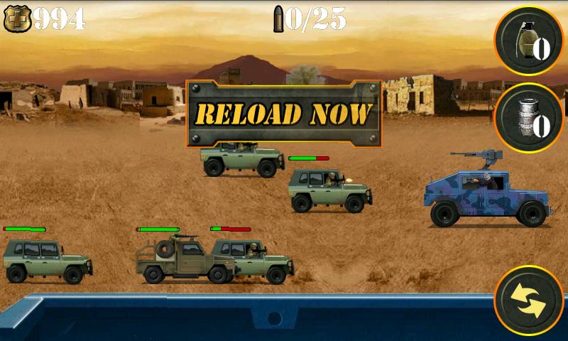 androidアプリ ウォーゾーンゲッタウェイ シューティングゲーム攻略スクリーンショット2