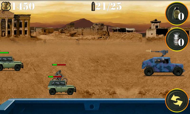 androidアプリ ウォーゾーンゲッタウェイ シューティングゲーム攻略スクリーンショット4