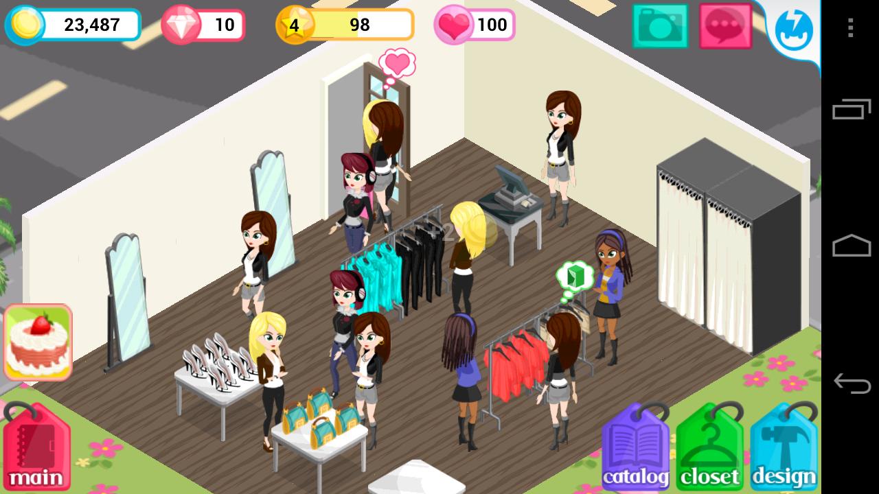 androidアプリ ファッションストーリー攻略スクリーンショット4