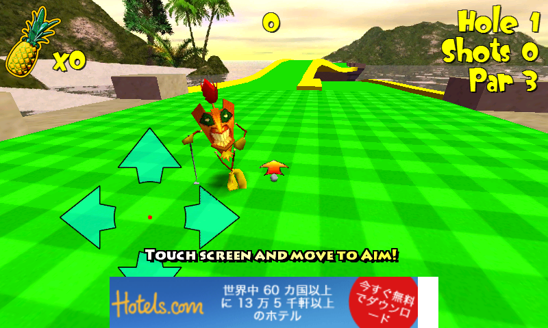 androidアプリ ティキ ゴルフ 2 フリー攻略スクリーンショット2