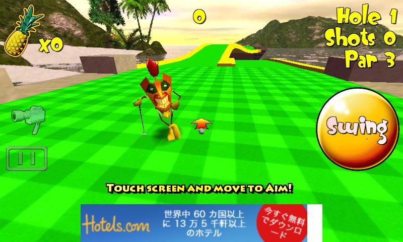 androidアプリ ティキ ゴルフ 2 フリー攻略スクリーンショット3