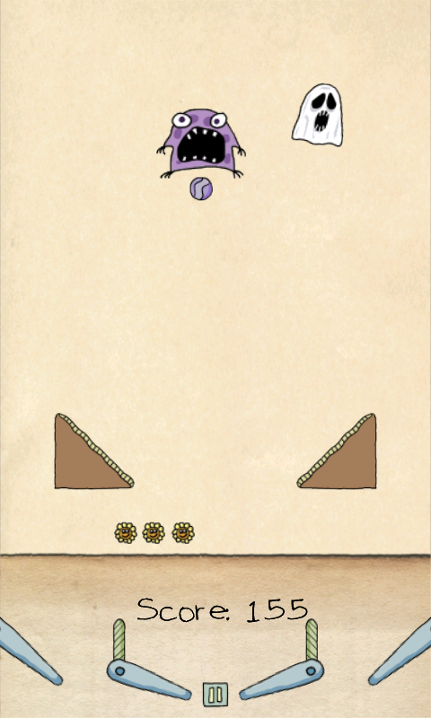 androidアプリ ペーパーピンボールHD - ライト攻略スクリーンショット2
