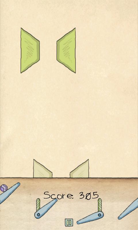 androidアプリ ペーパーピンボールHD - ライト攻略スクリーンショット4