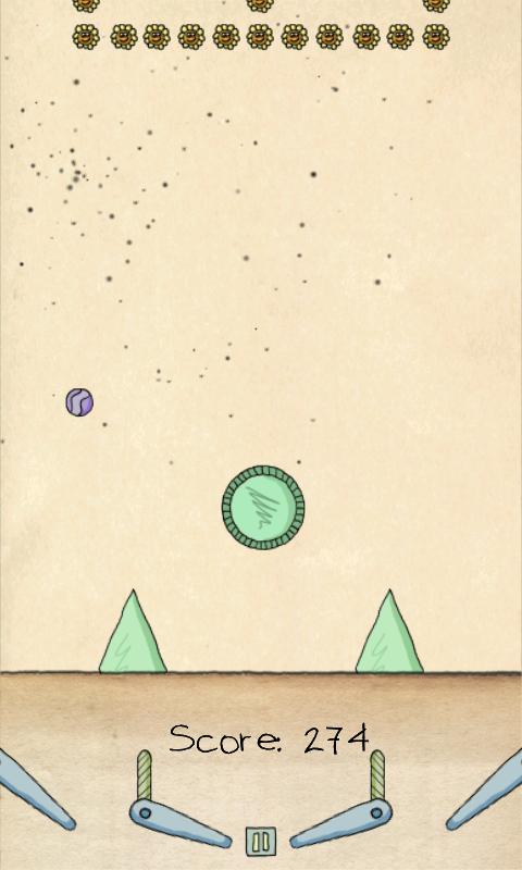 ペーパーピンボールHD - ライト androidアプリスクリーンショット1