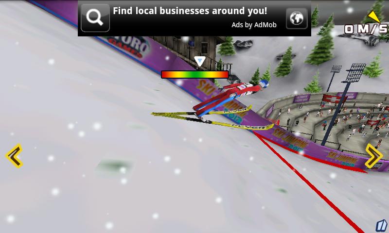 androidアプリ スキージャンピング 2012攻略スクリーンショット4