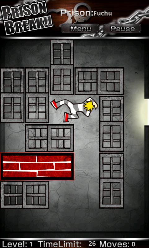 androidアプリ Prison Break攻略スクリーンショット1