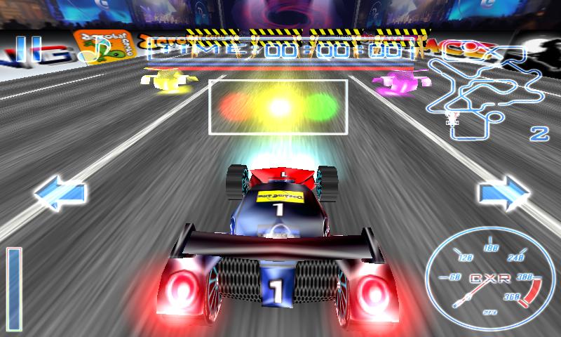 androidアプリ クレイジーレーシング フリー攻略スクリーンショット1