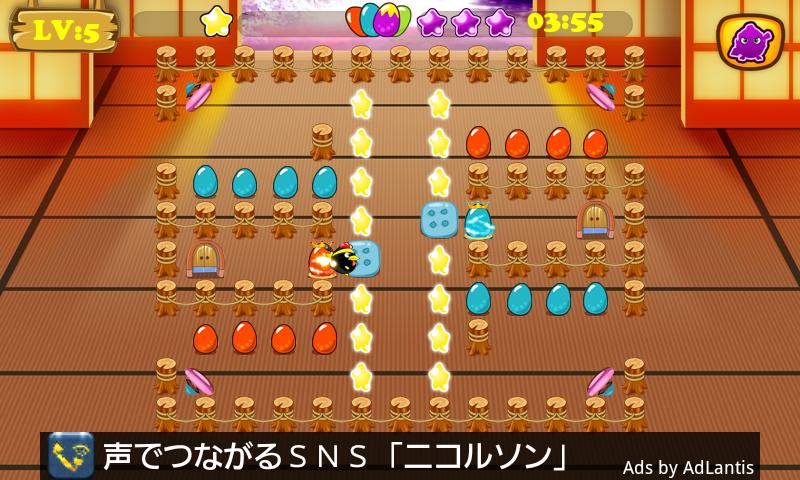 androidアプリ 忍者 小鳥 バード攻略スクリーンショット2