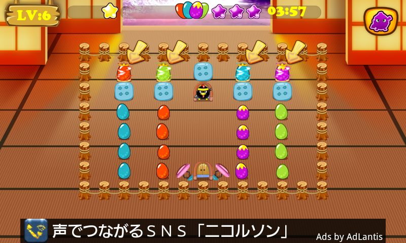 androidアプリ 忍者 小鳥 バード攻略スクリーンショット4