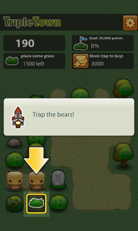 androidアプリ トリプルタウン攻略スクリーンショット3