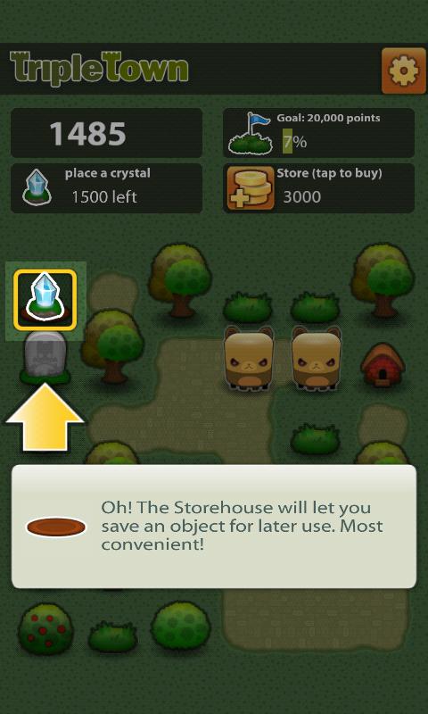 androidアプリ トリプルタウン攻略スクリーンショット4