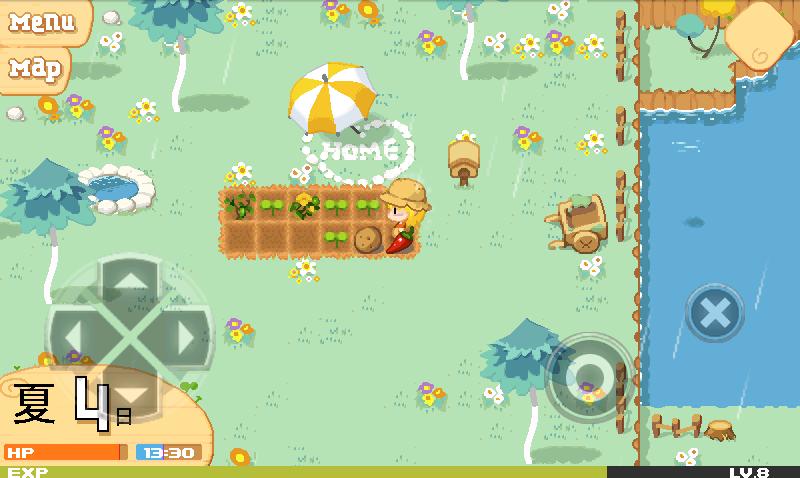 プリンセス農場物語 androidアプリスクリーンショット1