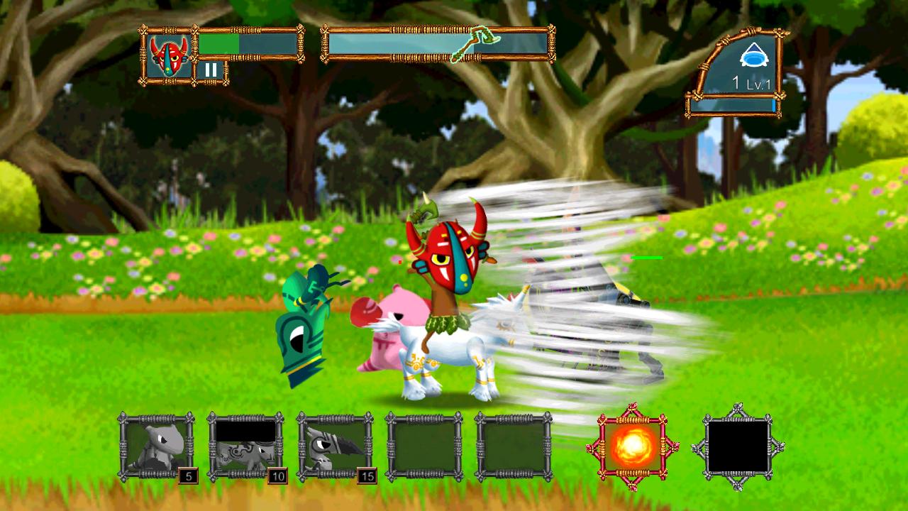androidアプリ 森の防衛戦攻略スクリーンショット2
