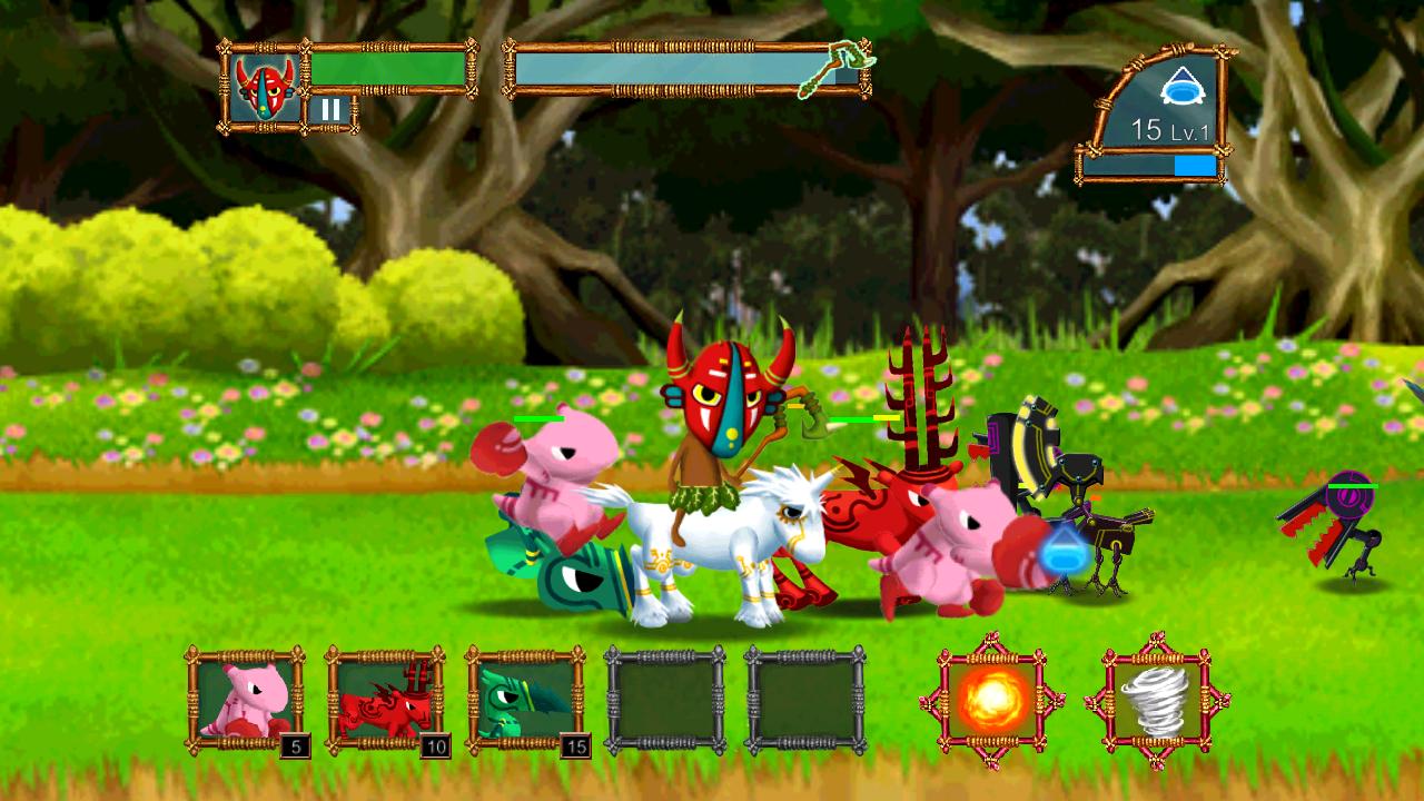androidアプリ 森の防衛戦攻略スクリーンショット3