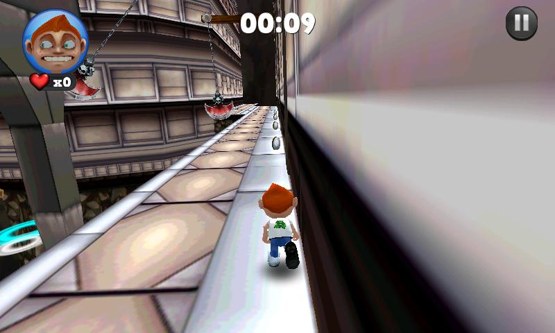 androidアプリ ランニング フレッド攻略スクリーンショット4