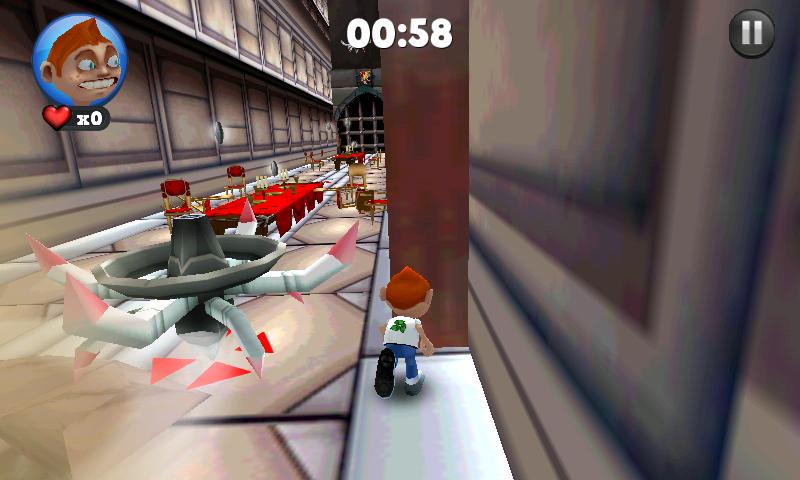 androidアプリ ランニング フレッド攻略スクリーンショット5