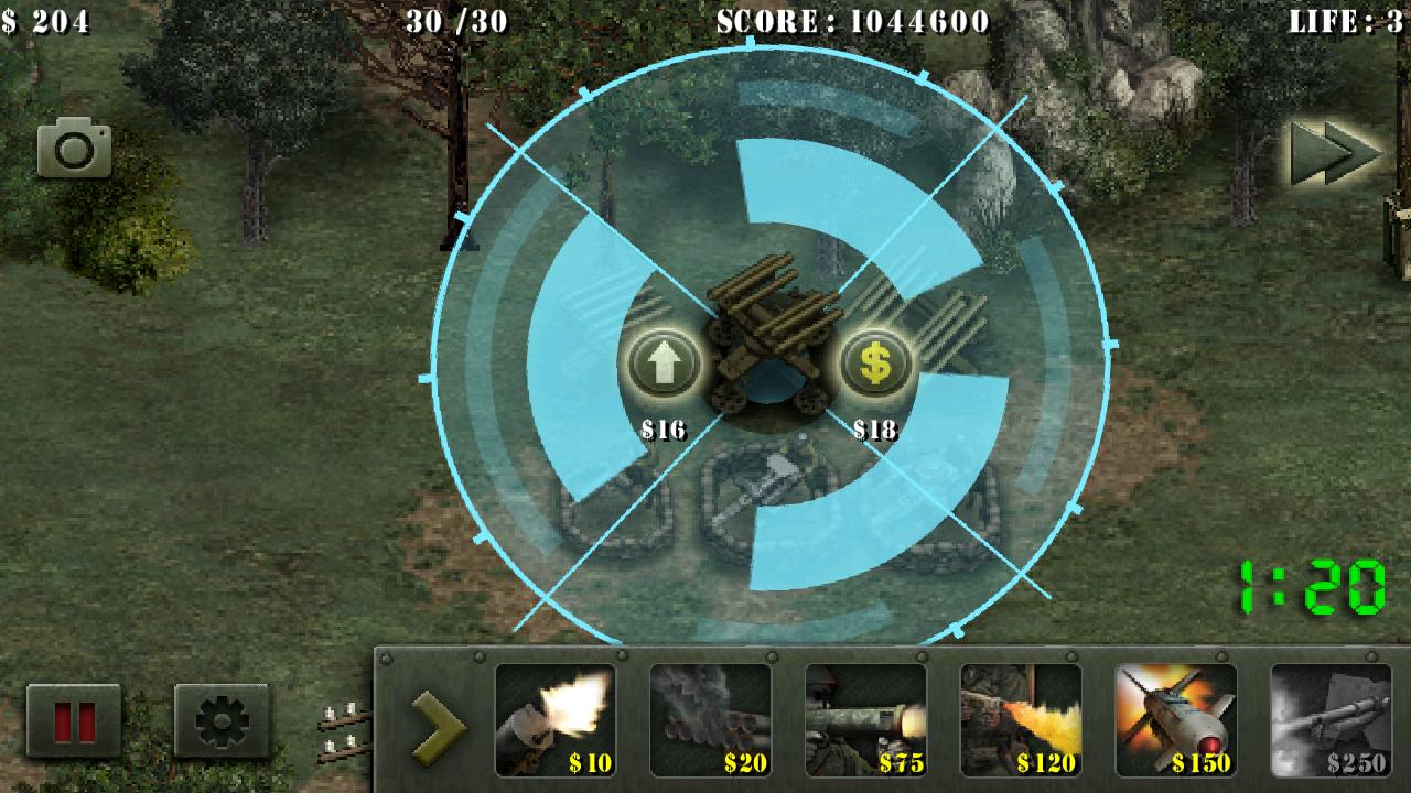 androidアプリ 栄光の兵士たち:第二次世界大戦 無料攻略スクリーンショット2