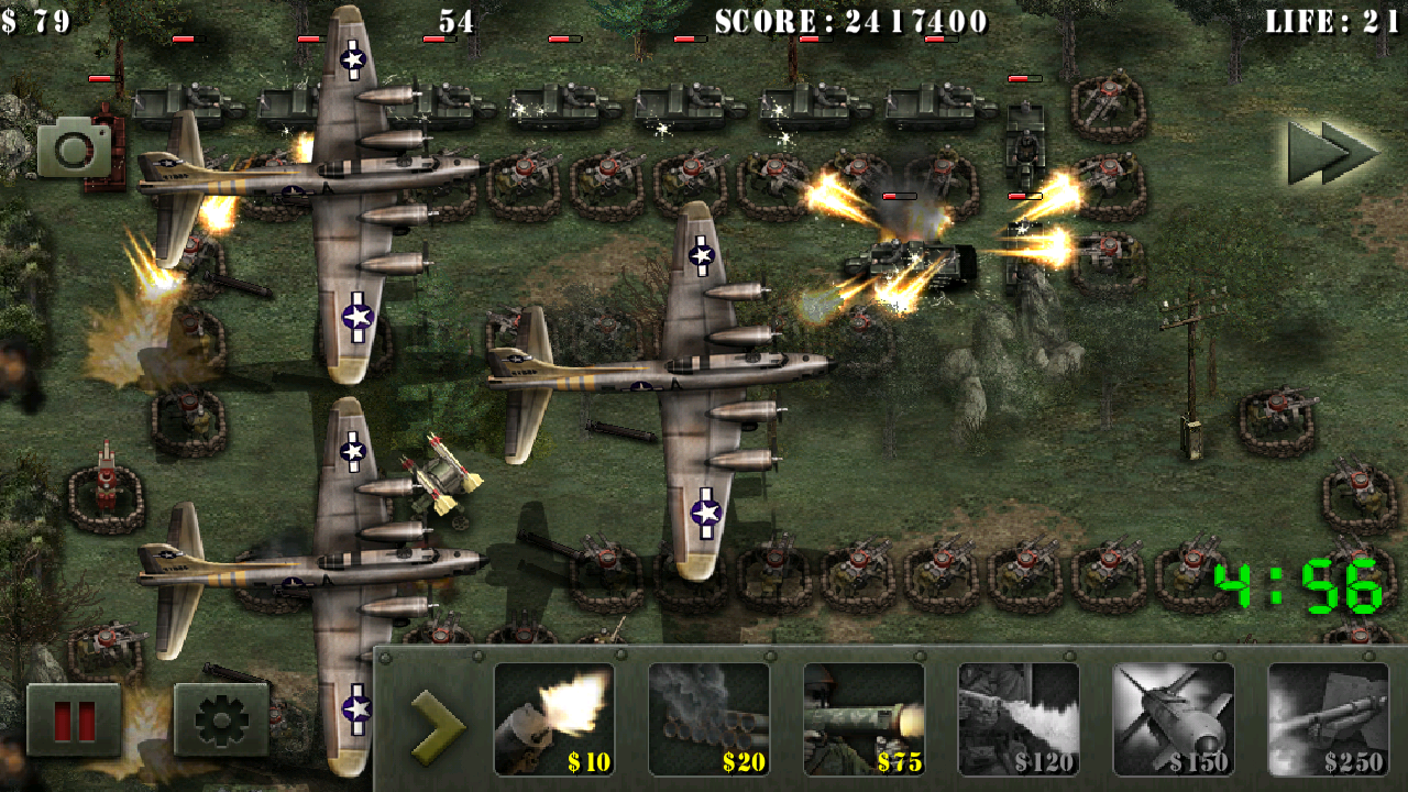 androidアプリ 栄光の兵士たち:第二次世界大戦 無料攻略スクリーンショット3